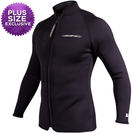 3mm NeoSport XSPAN Paddle Jacket - Unisex PLUS SIZES
