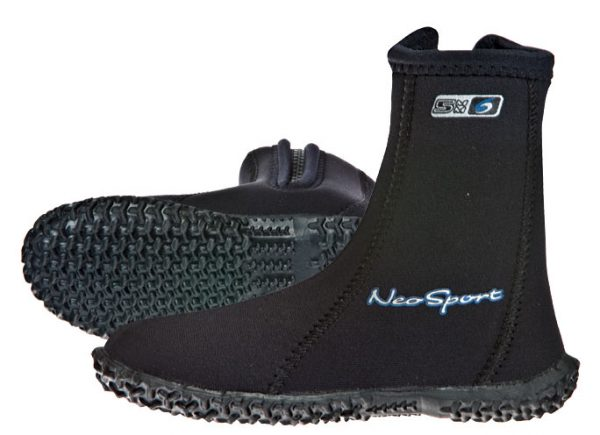 Neo Sport Wetsuits Premium Neoprene 7mm Hi Top Zipper Boot