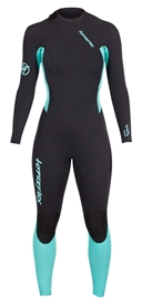 4/3mm Women's Hyperflex VYRL Back Zip Sealed Wetsuit / Fullsuit