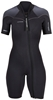 3mm Women's Henderson Thermoprene Pro Shorty Springsuit wetsuit - Front Zip - PLUS SIZES