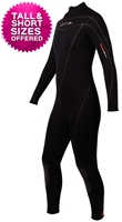 3mm Women's Henderson Thermoprene Fullsuit - Back Zip - PLUS SIZES