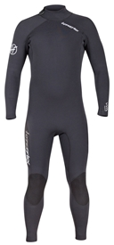 3/2mm Men's Hyperflex VYRL Back Zip Flatlock Wetsuit / Fullsuit