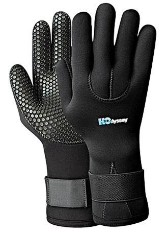 HyperFlex 6mm Cold Water Mitts Mesh Skin Oven Mitt Scuba Diving Gloves